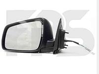 Стекло зеркала левого на Mitsubishi Lancer X,Мицубиши Лансер 10 08-