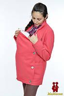 Слингопальто кашемировое 3в1: беременность, слингоношение, обычное пальто (демисезонное удлиненное), фото 1