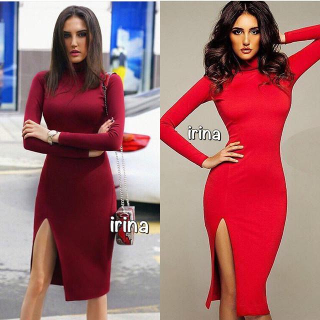 Купить красивое облегающее платье