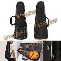 1шт гиг чехол сумка черного мандолина для мандолины музыкального проигрывателя