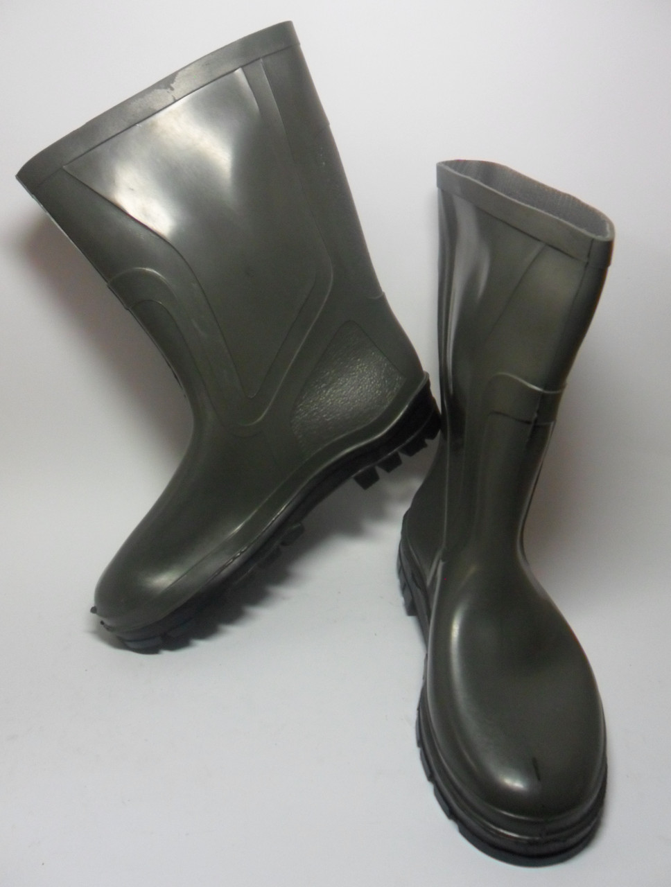 38721573ed79 Мужские резиновые сапоги из ПВХ зеленые   продажа, цена в ...