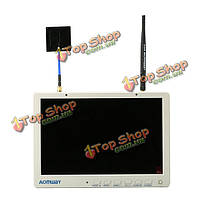Aomway hd588 10-дюймов 5.8G 40ch разнообразие FPV HD монитор 1920 x1200 с регистратором строение в батарее