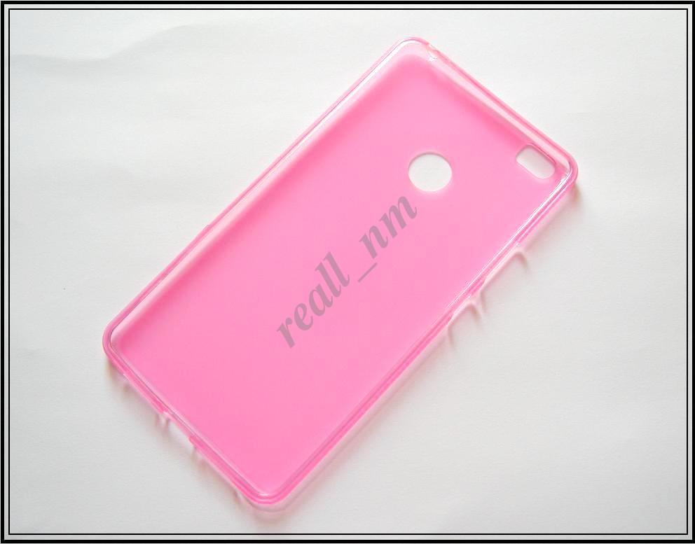 Розовый силиконовый чехол накладка-бампер для Xiaomi Mi Max