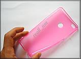 Розовый силиконовый чехол накладка-бампер для Xiaomi Mi Max, фото 4