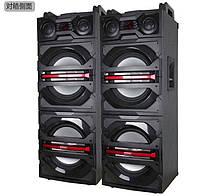 Активная акустическая система колонки Temeisheng V-244,  2х150W + Bluetooth