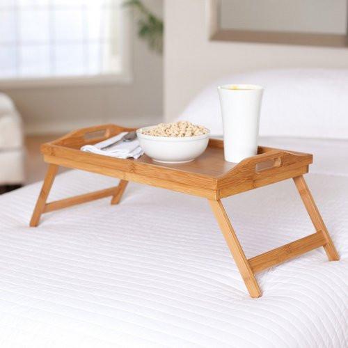 "Столик для завтрака ""Франция"" поднос цвета бук"