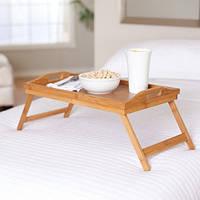 "Столик для завтрака ""Франция"" поднос цвета бук , фото 1"