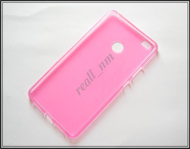 розовый бампер для Xiaomi Mi Max