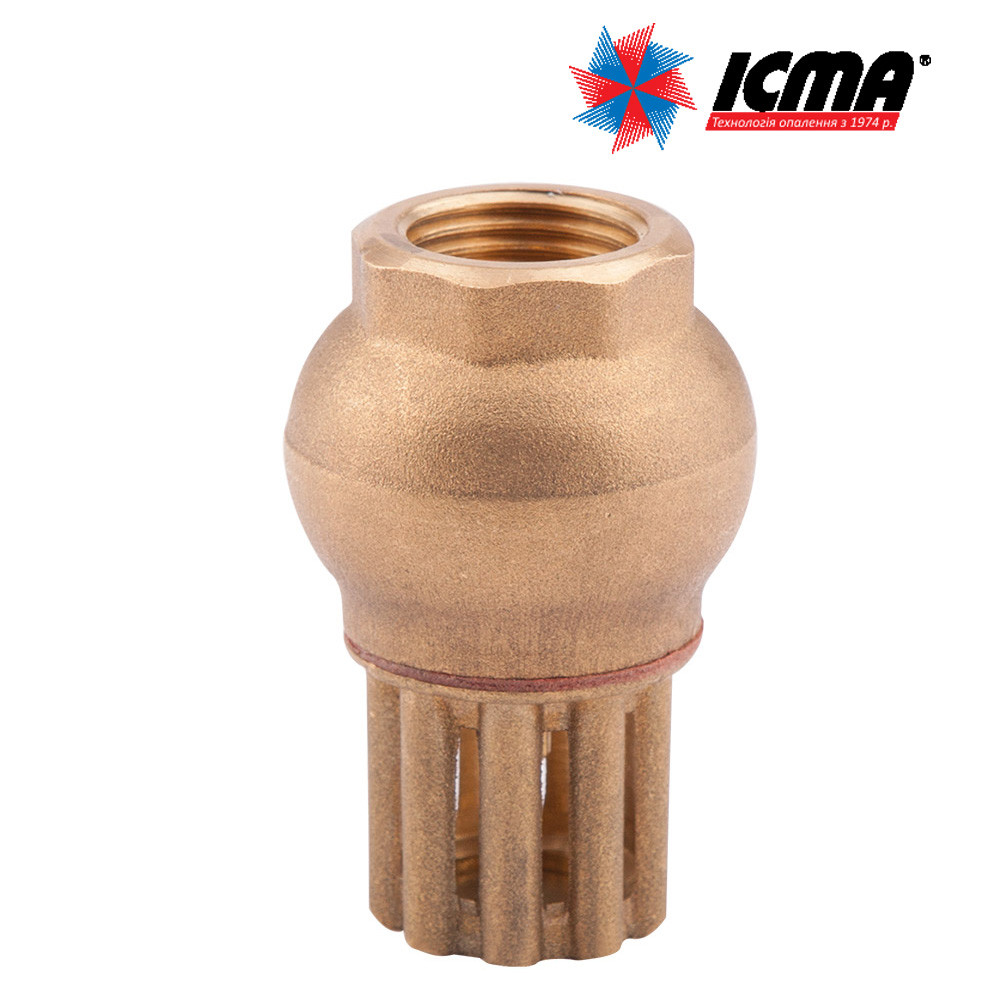 Icma донний зворотний клапан 1