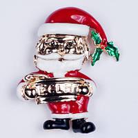 Брошь Дед Мороз