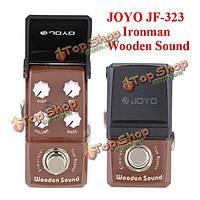 Джойо Ironman JF-323 деревянный акустический симулятор педаль эффект звук мини-гитары