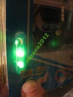 Подсветка в авто LED A 20003G (3 диода) зеленый