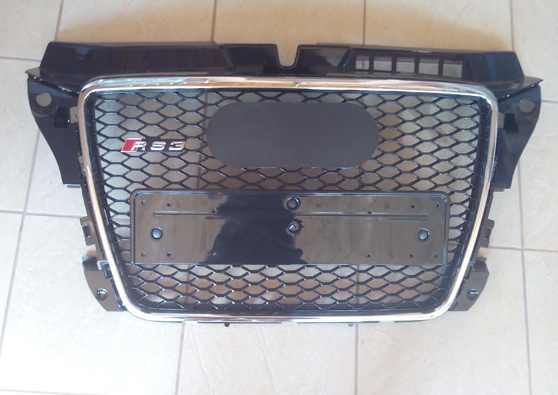 Решетка радиатора Audi A3 в стиле RS3, фото 1