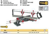 Стусло поворотное пила 550 мм TUV GS 22,5°,30°,36°,45°,90° Польща VOREL-29000