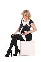 Нежные теплые колготы для беременных