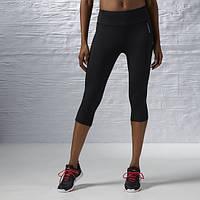 Капри женские Reebok Workout Ready Capri AJ3308 черные