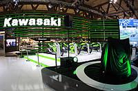 Стенд Kawasaki на итальянской выставке Eicma 2013