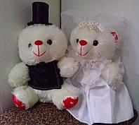 Свадебные декоративные мишки (20 см)