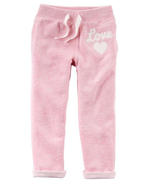 """Спортивные штаны """"Love"""" Carter's 24 мес"""