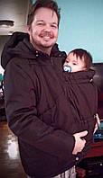 Слингокуртка зимняя для пап (3в1) (фото клиента)
