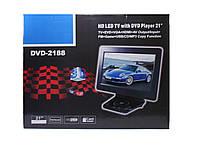 Портативный DVD Плеер 2188 + TV, фото 1