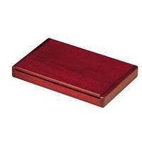 Деревянный контейнер для визиток BESTAR красное дерево 1316WDN