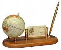 Глобус на деревянной подставке BESTAR, св. вишня 0930HDY