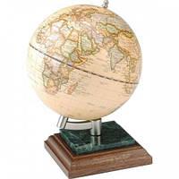 Глобус на подставке дерево-мрамор BESTAR, орех 0927WPN