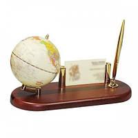 Глобус на деревянной подставке BESTAR, т. вишня 0930HDY