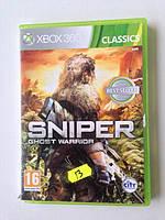 Xbox 360 SNIPER GHOST WARIOR  Лицензия Оригинал