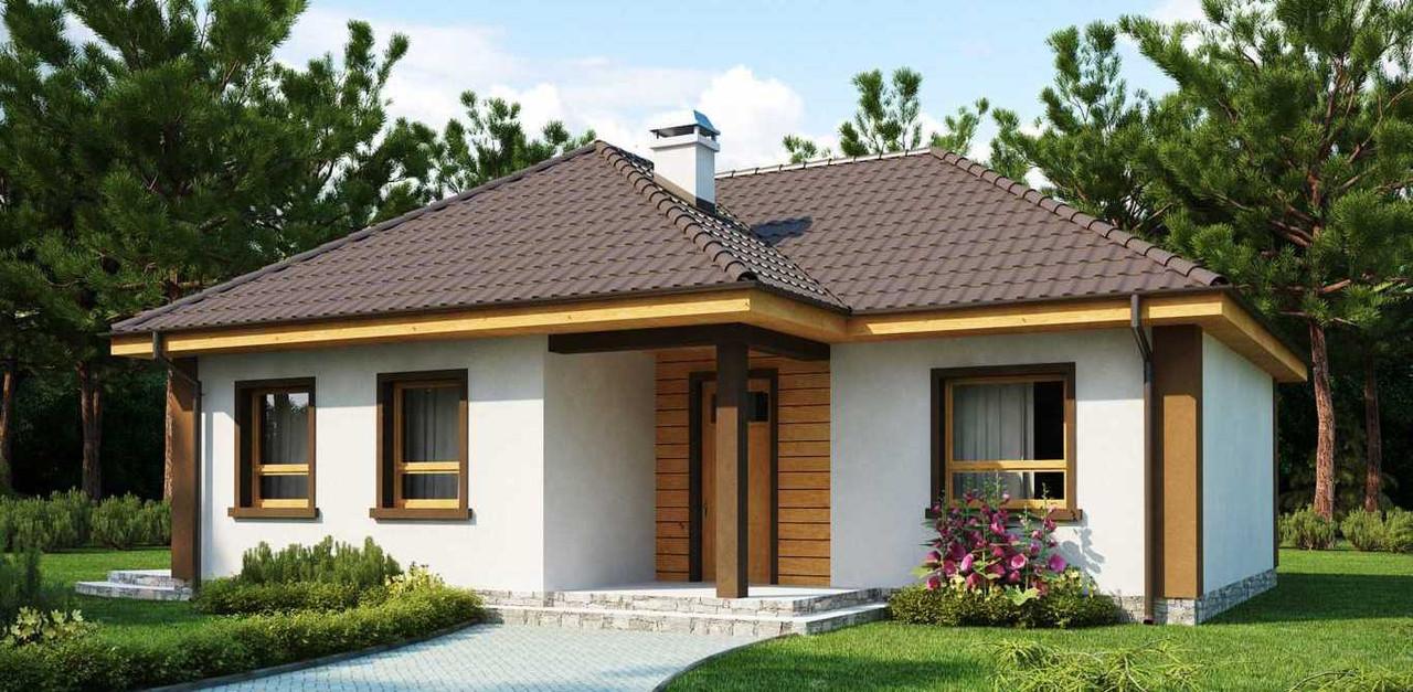 Строительство коттеджей и малоэтажных домов.Лизинг.Дом № 2,49