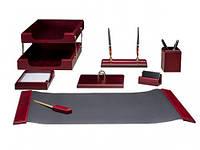 Набор настольный Bestar 8 предметов красное дерево 8259XDU