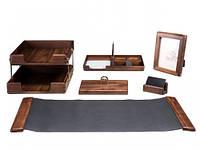 Набор настольный Bestar 6 предметов ореховое дерево 6213WDN