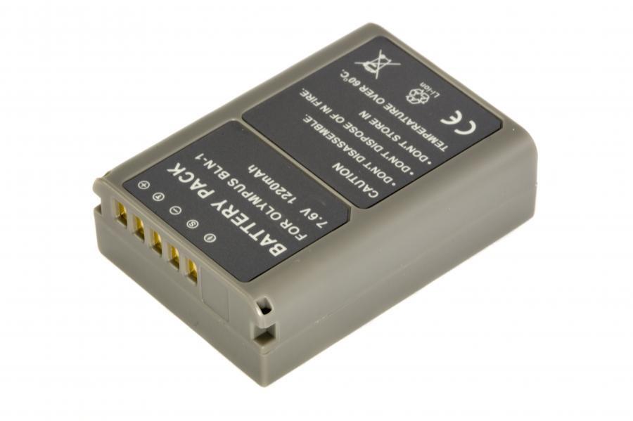 Аккумулятор OLYMPUS BLN-1 Гарантия 1 год