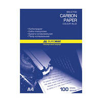 Бумага копировальная А4 16г/м² 50лист. фиолетовая Buromax ВМ2700
