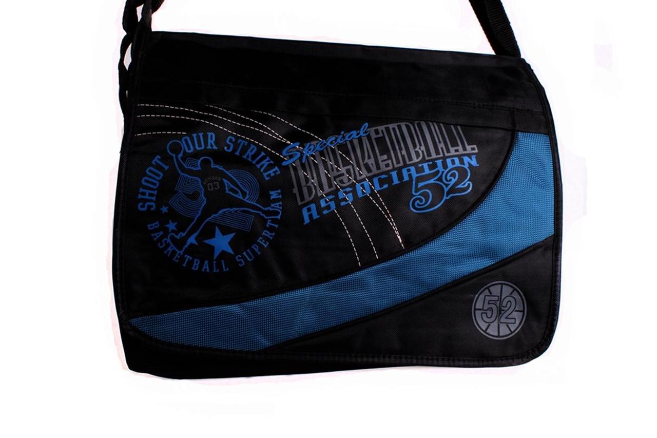 Школьная сумка через плечо хорошего качества