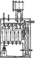 Комплект оборудования типа КГА-2-1 для определения суммы кислотообразующих газов