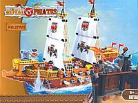 """Конструктор """"AUSINI / Аусини"""" серии """"PIRATES / Пираты"""" мод.27005 """"Королевский корабль и форт пиратов"""""""