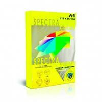 Цветная бумага офисная А4 Spectra Color 160г/м2 250 лист. интенсив