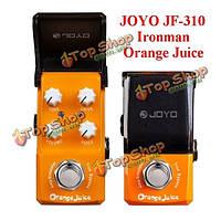 Джойо Ironman JF-310 апельсинового сока усилителя Тренажер мини-гитары педаль эффекта