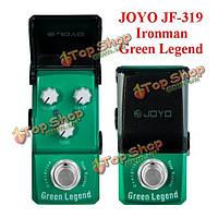 Джойо Ironman JF-319 зеленая легенда овердрайв мини-педали гитарный эффект