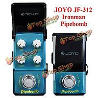 Джойо Ironman JF-312 Pipebomb компрессор мини гитара педаль эффект