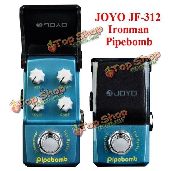 Джойо Ironman JF-312 Pipebomb компрессор мини гитара педаль эффект - ➊TopShop ➠ Товары из Китая с бесплатной доставкой в Украину! в Киеве