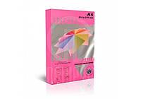 Бумага А4 SPECTRA COLOR 155 г/м неон Cyber HP Red 350 малиновый (250 листов) 16,3312
