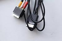 Xbox 360 360 Slim RCA SCART  кабель Тюльпаны Ориг