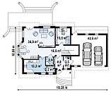 Строительство коттеджей и малоэтажных домов СТРОИТЕЛЬСТВО. Проект Дома № 2,51, фото 6