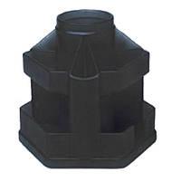 Органайзер КИП настольный, Вертушка маленькая, черный (OB23черн)