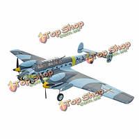 Dynam Messerschmitt Bf-110 1500мм 59-дюймов размах крыльев гс Warbird ПНП