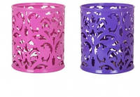 "Подставка для ручек, ""Barocco"" 83х100мм, BUROMAX,BM.6204(фиолетовый,розовый )"