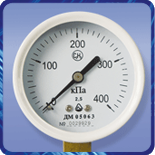 Манометр ДМ 05 063 для ацетилену (0...40кгс/м?) 2,5 М12х1,5
